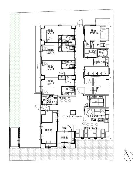 ホスピタウン「梅島」1階