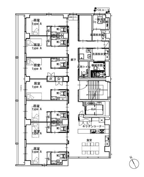 ホスピタウン「梅島」3階