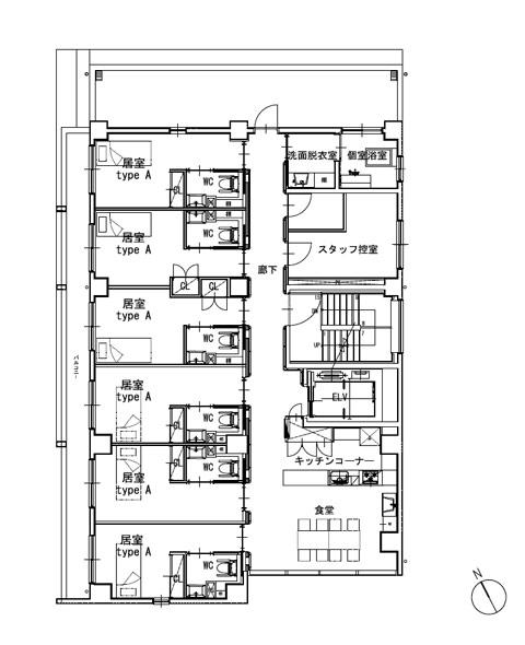 ホスピタウン「梅島」4階