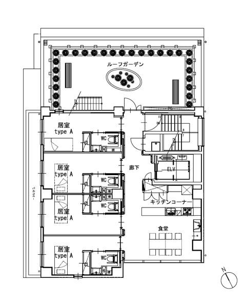 ホスピタウン「梅島」5階