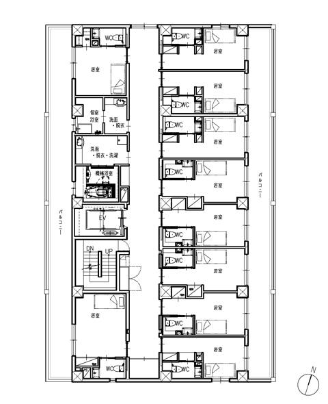 ホスピタウン「川口」2階
