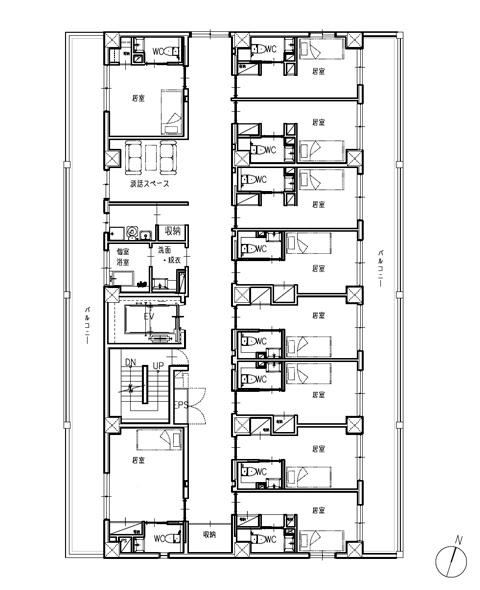 ホスピタウン「川口」3階